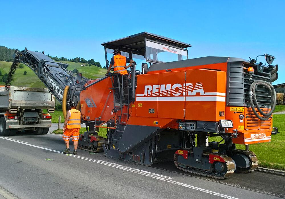 Remora Wirtgen W 210i